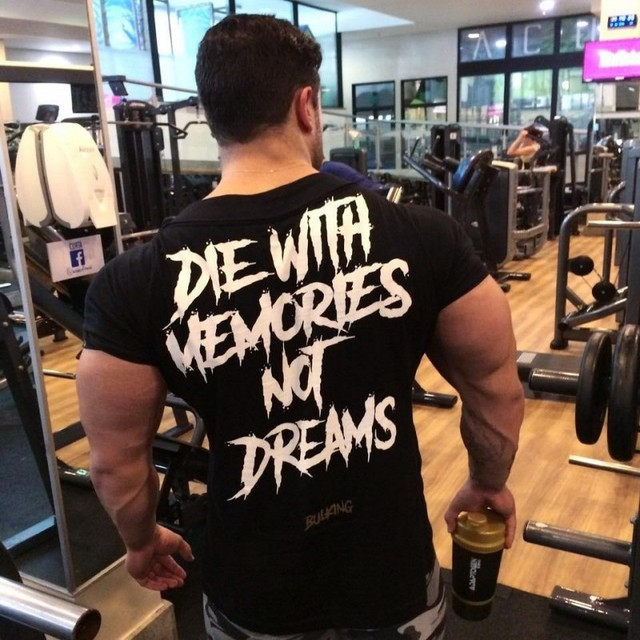 Gym Tight T-shirt Gym Fitness Bodybuilding Bulking Tshirt Mens T shirts Short sleeve Cotton Tees Shirt Homme Brand Clothing