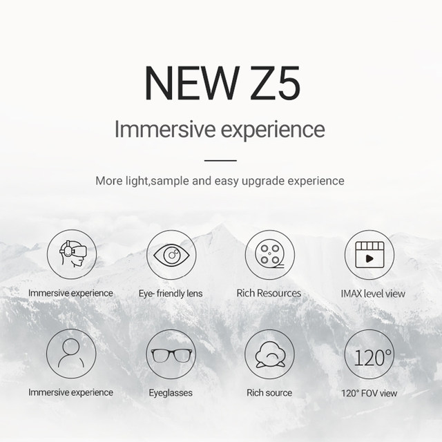 3eefe629c41 Online Shop 2018 NEW version BOBOVR Z5 Youth Virtual Reality 3D VR ...