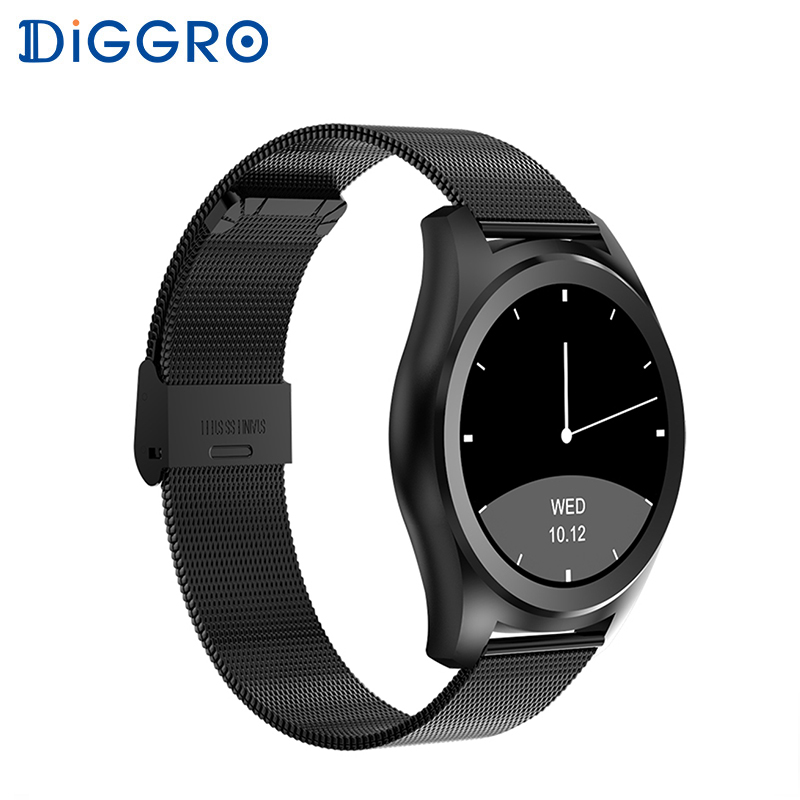 Diggro DI03 Smart Watch Message Push MTK2502C IP67 Waterproof Heart Rate Monitor Remote Control Camera Smartwatch IOS Android diggro di03 smart watch ip67 heart rate monitor pedometer fitness tracker bluetooth smartwatch sleep monitor for ios