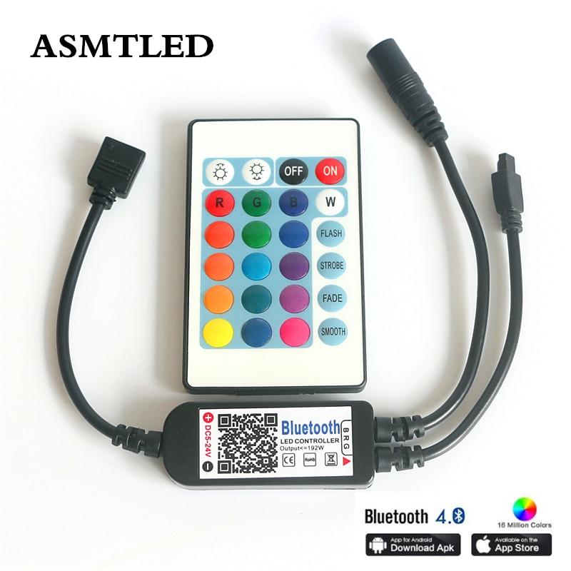 Bluetooth LED Controller Fernbedienung Steuerung für RGB//RGBW LED Streifen Band