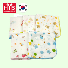 100% Cotton Gauze Baby Cartoon Face Hand Bathing Towel Square Soft Bibs 31*31cm Infant Newborn Feeding Handkerchief 5pcs/lot