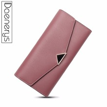 Daenerys PU Leather Women Wallet Zip Long Female Luxury Clutch 2018 Fashion Ladies With Coins Purse Cardholder For Girls