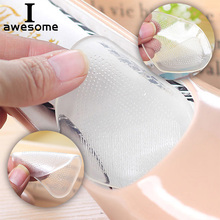 Elastic Gel Pads Forefoot Silicone Shoe Pad Non-Slip Foot Support Cushions Sore Pain Insole Pain Relief Flat Feet Orthotic Arch flat feet orthotic arch support gel pads non slip pain relief shoes insoles free shipping ht0027