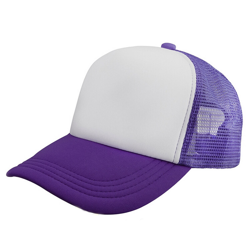 Summer Women Men Snapback Hats Unisex Mesh Baseball Caps  Hats 7.4