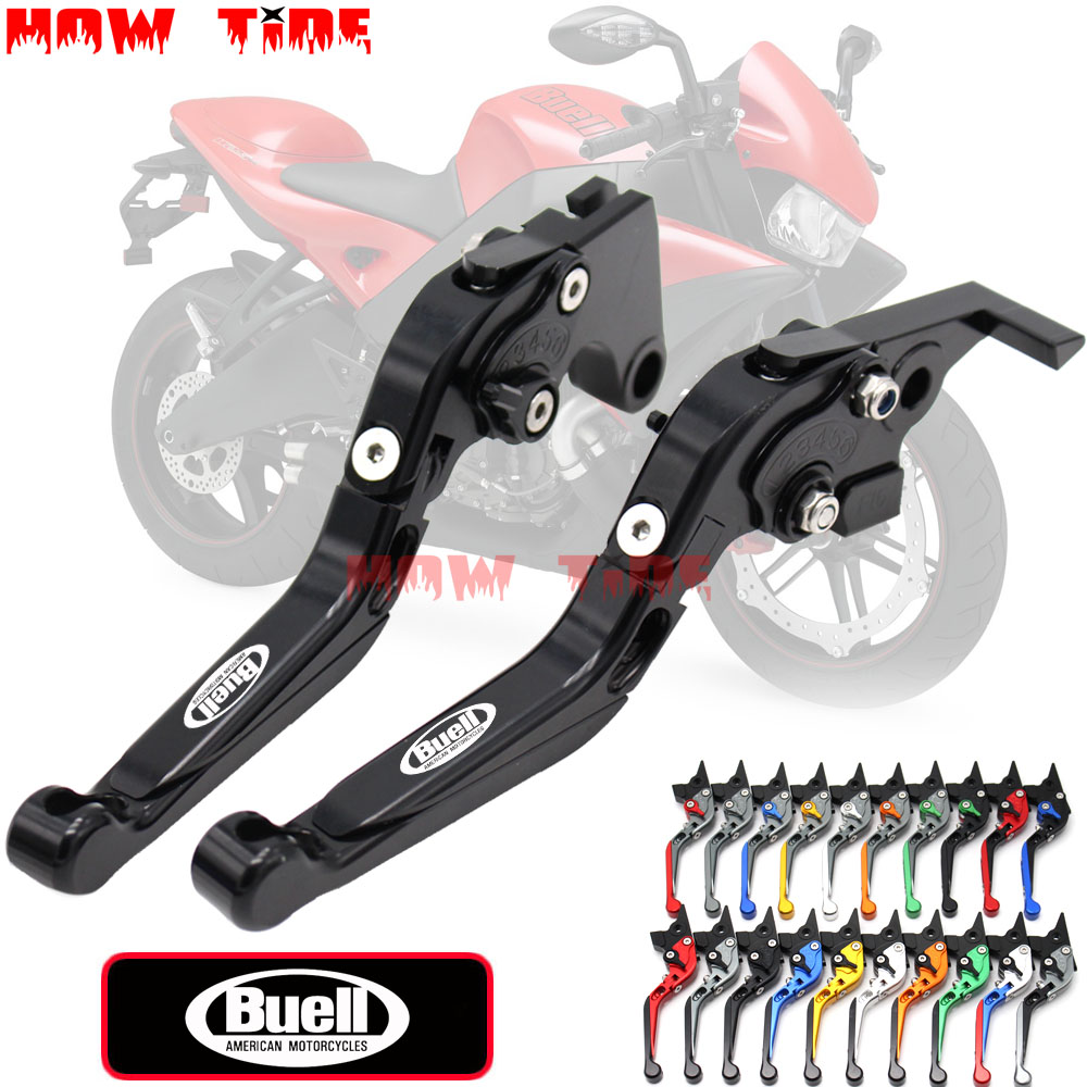 For <font><b>Buell</b></font> 1125R <font><b>1125</b></font> R 2008 2009 1125CR <font><b>1125</b></font> CR 2009 Motorcycle Accessories Folding Extendable Brake Clutch Levers image