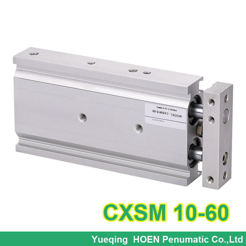 CXSM10-60 SMC Type CXSM 10-60 Compact Type Dual Rod Cylinder Double Acting 10-60mm Accept custom cxsm10 60 cxsm10 70 cxsm10 75 smc dual rod cylinder basic type pneumatic component air tools cxsm series lots of stock