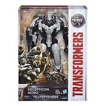 Transformers  Movie 5 voyages V – level V – nitrogen Transformers The Last Knight Decepticon Nitro Voyager Action Figure