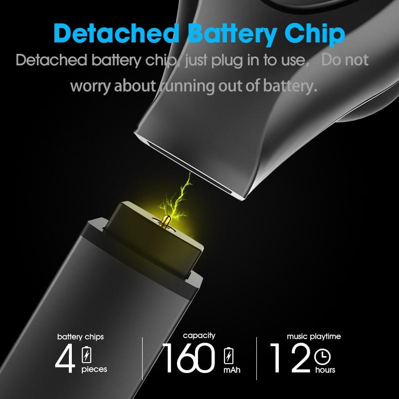 2019 version améliorée syllabe D9X TWS batterie détachable Bluetooth V5.0 écouteurs Portable plus léger étui de Charge de syllabe D9X - 4