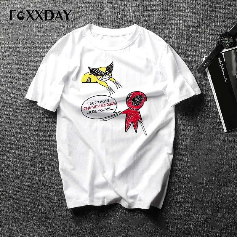Deadpool t shirt fashion dead pool anime t-shirt men t shirt clothing male S-3XL white top Tees shirt Free Shipping Camiseta