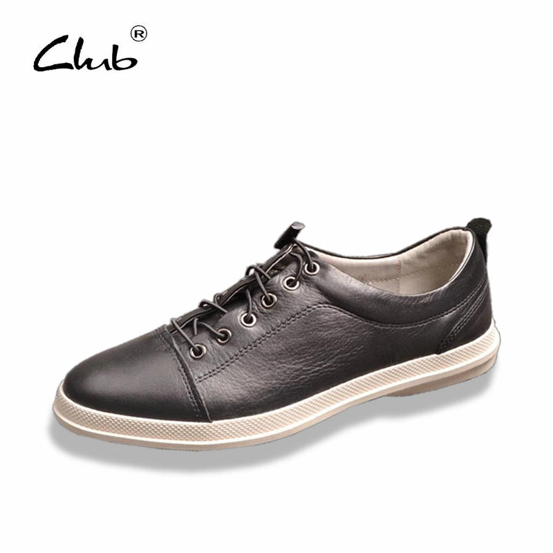 Club 2017 New Arrival Luxury Brand Genuine Leather Metal Casual Shoes Comfortable Fashion Men Shoes Black Mens Designer Shoes new arrival luxury man casual shoes genuine leather cow comfortable loafers round toe designer brand men s business flats gd20