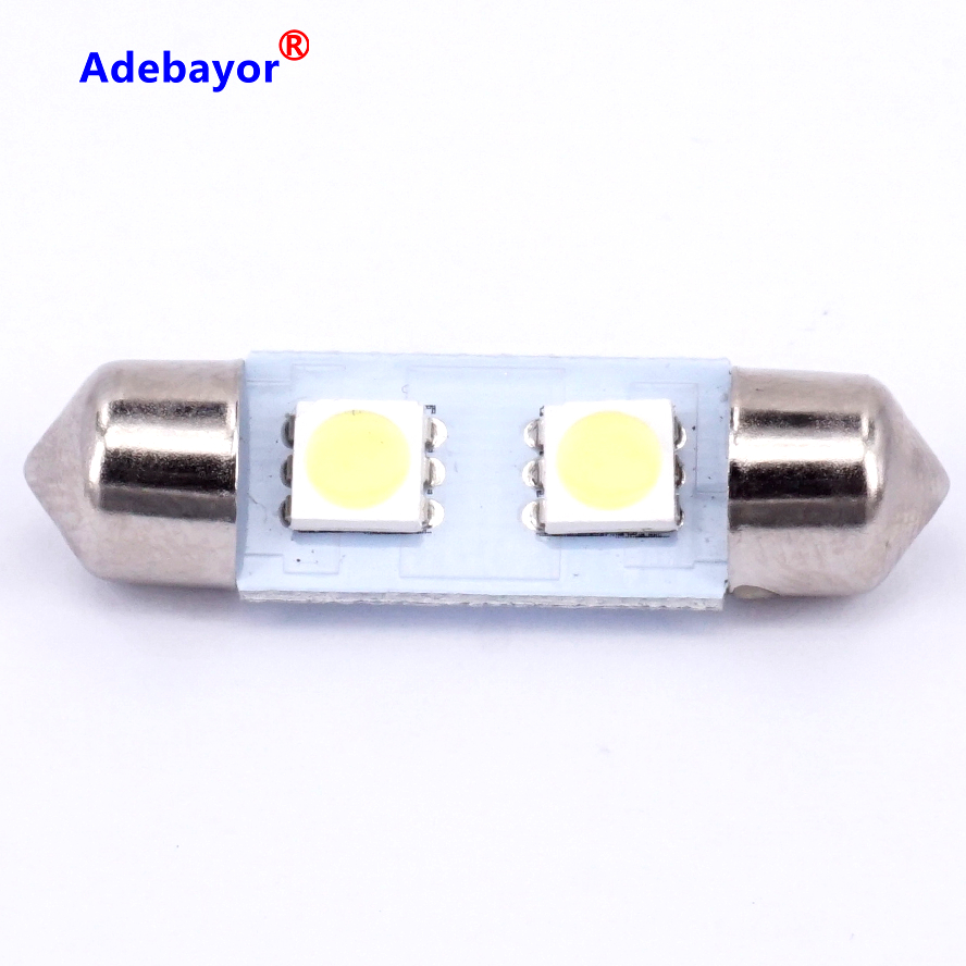 Wholesale 10x 31mm 5050 2smd led white blue red pink car dome wholesale 10x 31mm 5050 2smd led white blue red pink car dome festoon interior light bulbs auto festoon led licence plate roof in signal lamp from arubaitofo Gallery