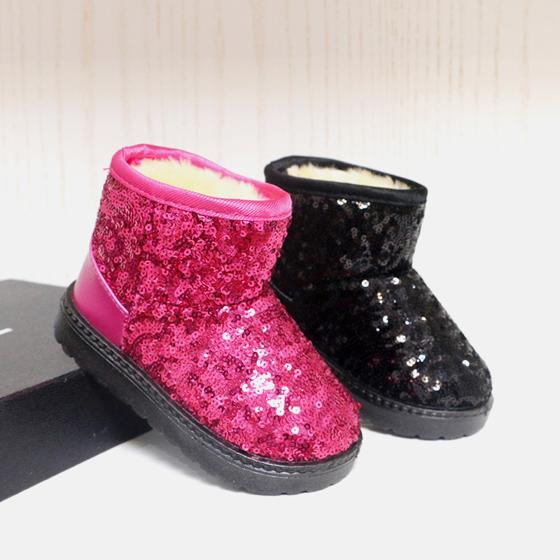 Warm Kids Fashion Shoes Ankle Boots For Toddler Baby Small ...