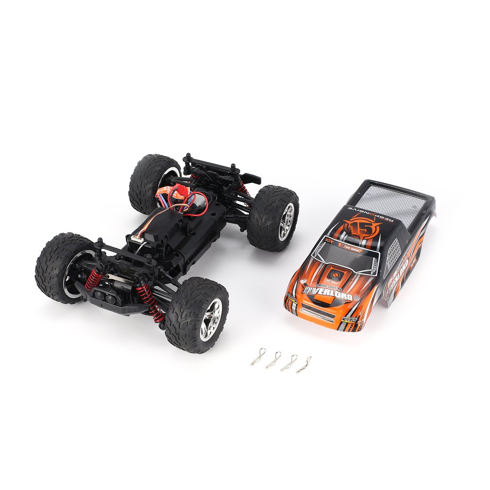 FY-15 1/20 Scale 2.4Ghz 4WD 25km/h High Speed RC Car Bigfoot Big Wheels Off-Road Rock Race Truck Electric RC Remote Control Car