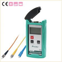 MT-7601 Волоконно-оптический измеритель мощности Лазера волоконно-оптический тестер волоконно-Оптический измеритель мощности Автоматической Идентификации Частоты