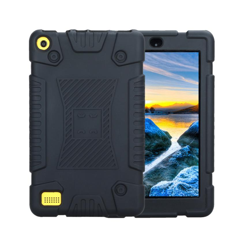 mosunx For Amazon Kindle Fire 7 20172016/2015 Universal Case Shockproof Soft Silicone Rugged Cover DE07 Drop Shipping