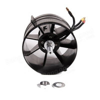 FMS 90mm 12 Blades Ducted Fan EDF With 3546 KV1900 Brushless Motor For Rc Airplane