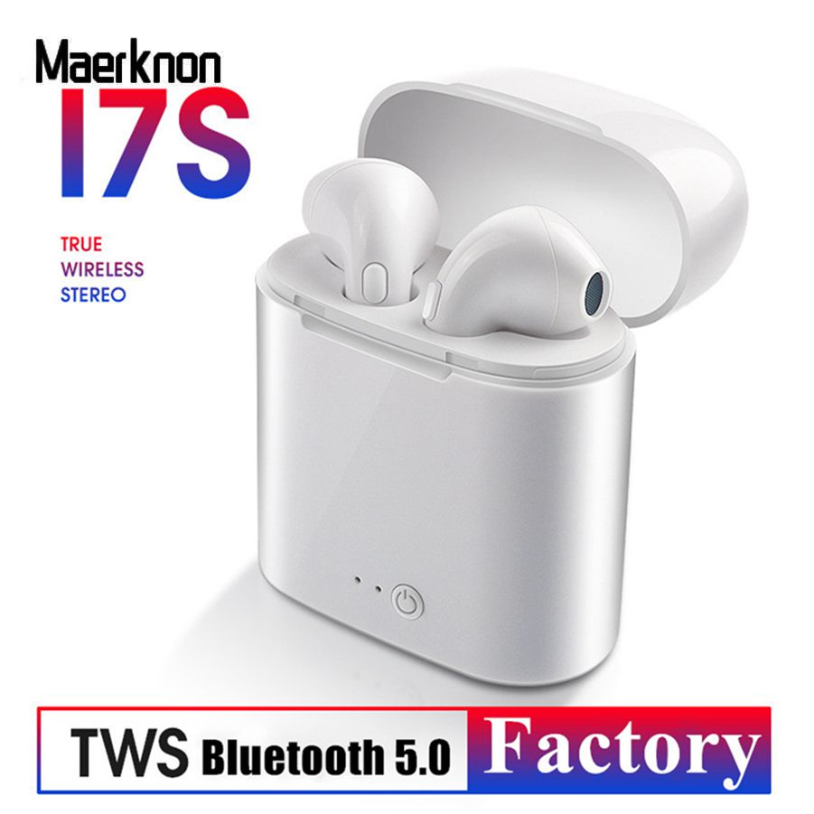 I7s TWS Wireless <font><b>Bluetooth</b></font> 5.0 Earphones mini Air Headsets Earbuds with Mic For iphone 6 7 Plus X XR XS Max Samsung S7 S8 <font><b>S9</b></font> + image