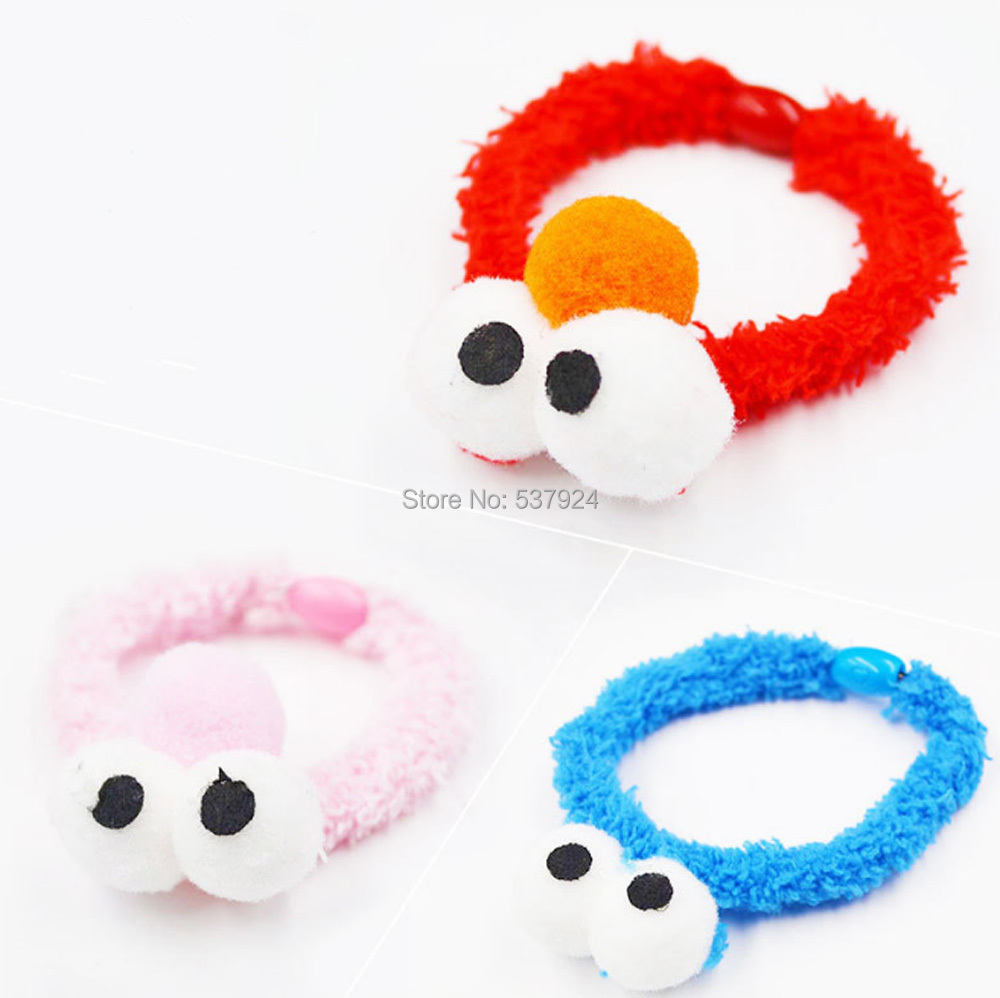 New 100Pcs Sesame Street Elmo Cookie Monster Head Rope Accessories