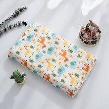 Натуральный Таиланд ортопедический латекс подушка для детей мультфильм Жираф памяти массажная подушка Пена, латекс Подушка для сна