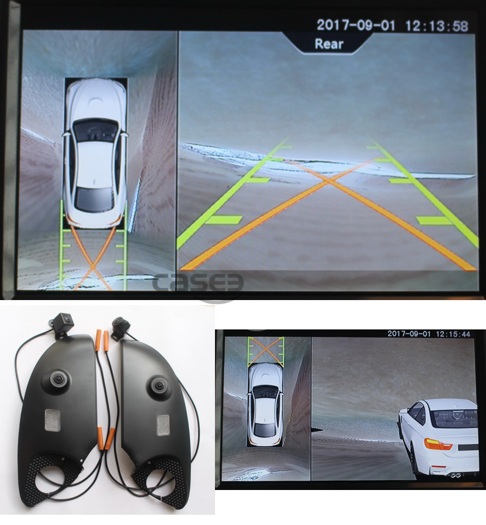 For Bmw 5 7 Series Surround 360 Degree Birds Eye View Camera