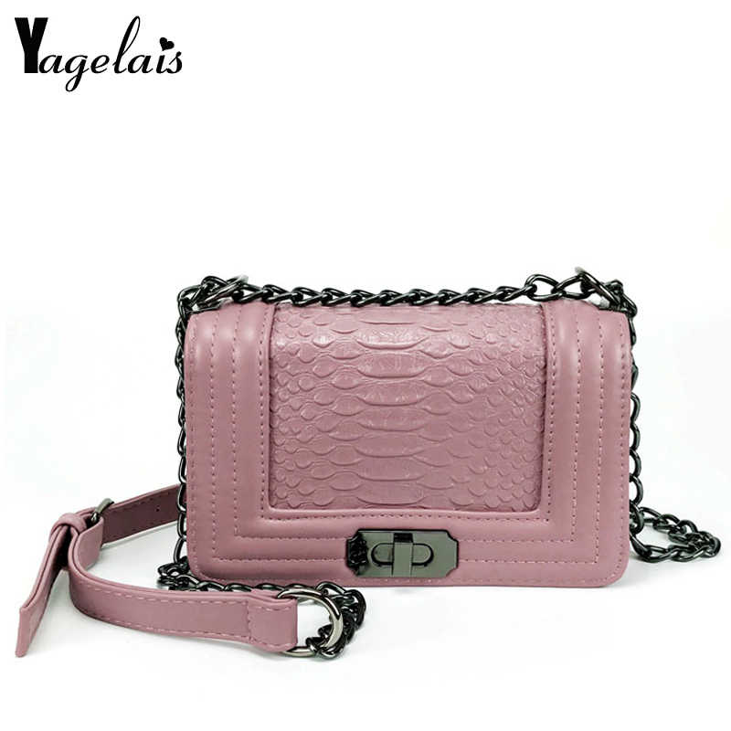 5754a391dc3 2019 Famous Brand Women Messenger Bags Chain Shoulder Bag Luxury ...