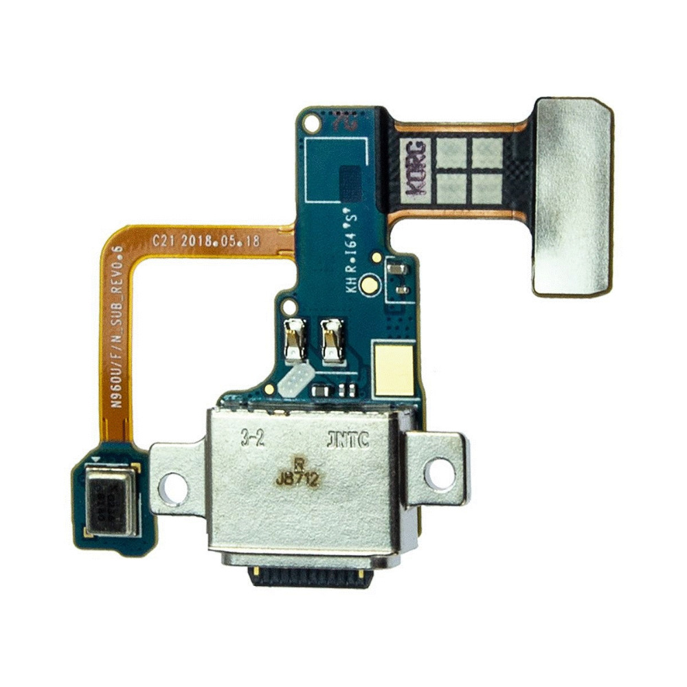 For Samsung Galaxy Note 9 SM-N960U N960F N960N Charge Charging Port Dock Connector Flex Cable