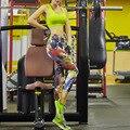 НОВЫЕ Сексуальные женские Леггинсы Тренировки Фитнес Брюки Печатные Quick Dry Брюки Jeggings Легинсы Y25073