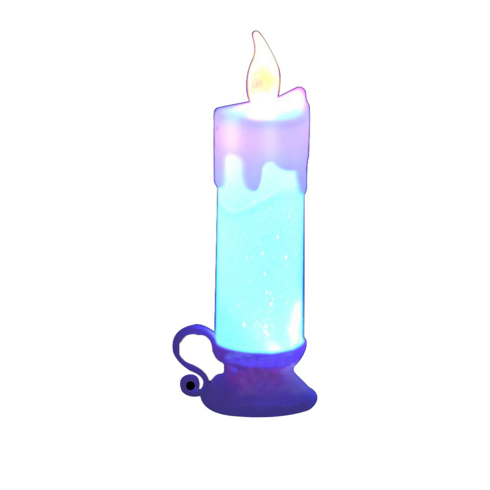 7 color changing led candles flameless candle lamp Best candles for romantic night