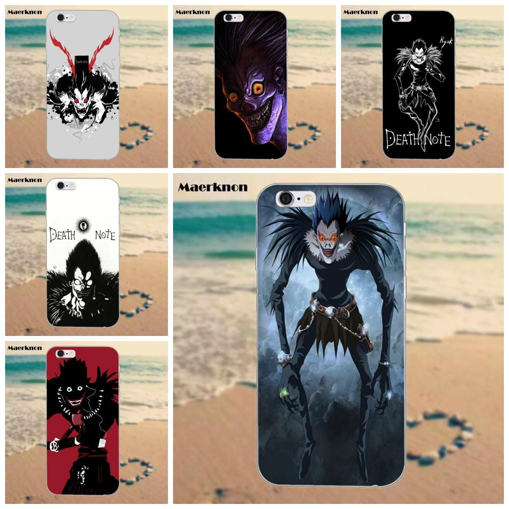 Ryuk Death Note Soft TPU Case Cover For IPhone 4 4S 5 5S