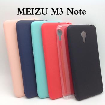 Ricestate dla Meizu M3 Note 5 5 #8222 calowy skrzynki pokrywa NOTE3 TPU silikonowy matowy futerał dla Meizu Note 3 krystalicznie czyste i jednolite kolory tanie i dobre opinie CN (pochodzenie) Environmental Sturdy and durable soft silicone tpu matte case Zwykły Przezroczysty