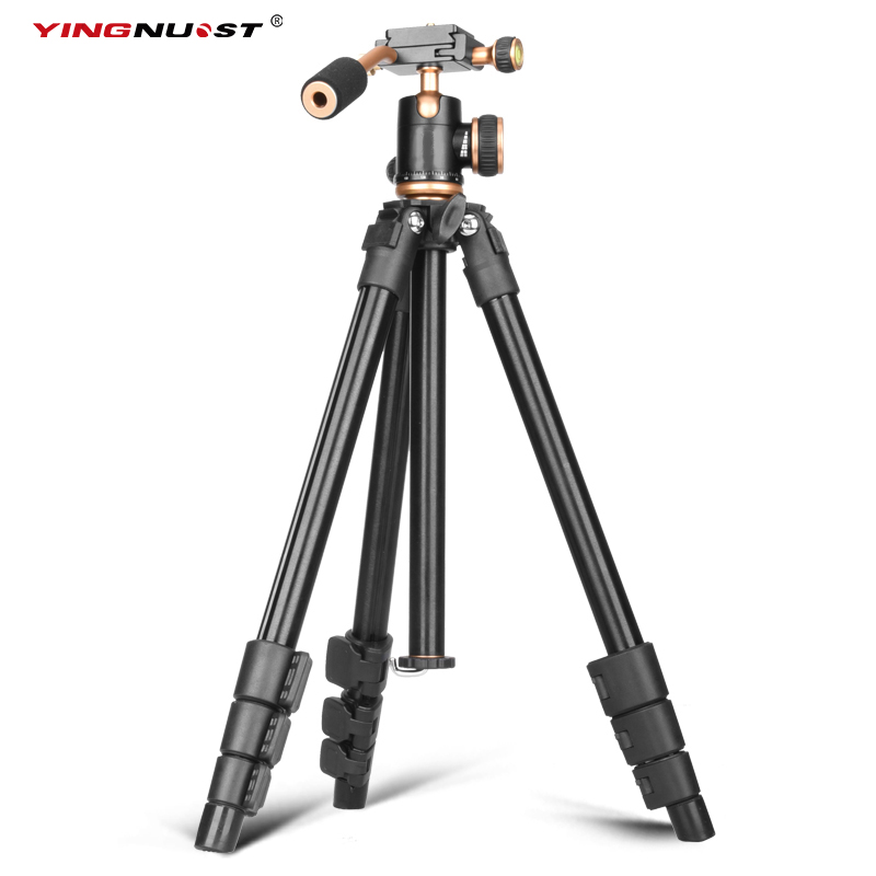 YINGNOUST Tripod Professional Camera Tripod Portable Travel Photo Tripod Stand Light Weight For DSLR Camera DC