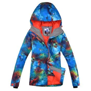 Women Ski Jacket Thermal Windproof Waterproof Outdoor Sport Wear Skiing Snowboard Winter Clothing Thicken New Style Female Coat