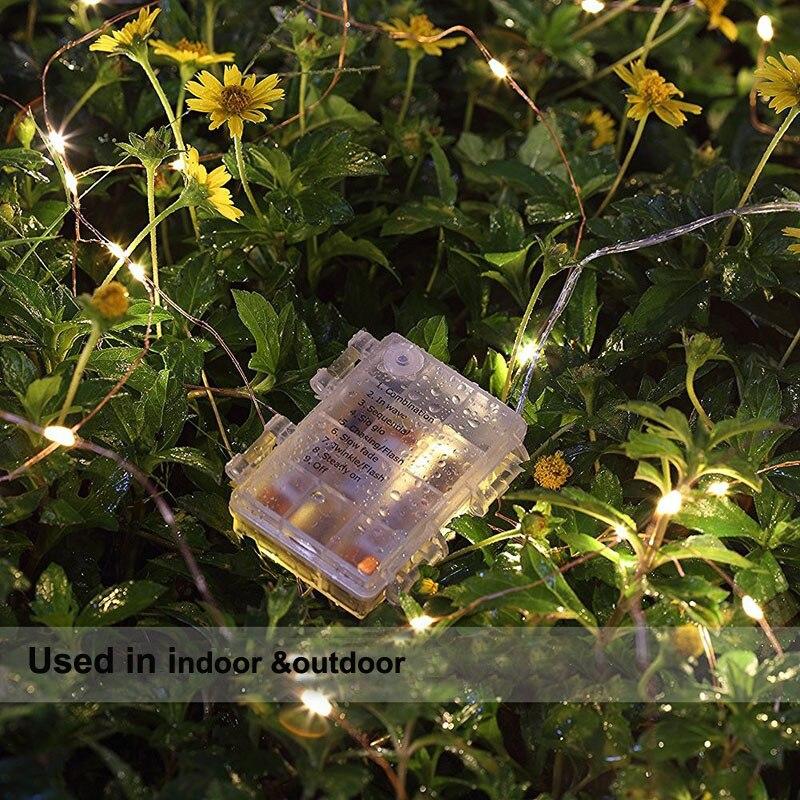 Tiras de Led 10 m 33ft 100 led Feature 1 : Bateria Operated Fairy Lights