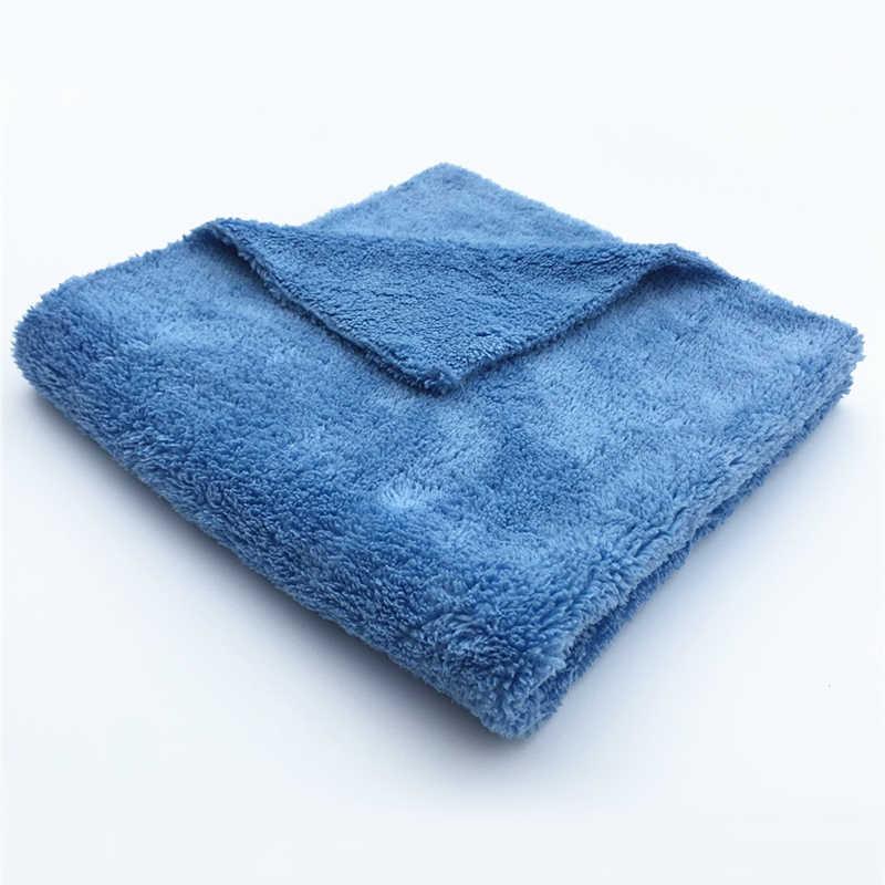 """Лучший! Плюшевые микрофибры чистки автомобиля полотенце с необработанными краями 16 """"X 16"""" 100% без царапин идеально подходит для мойки автомобиля, стирки, чистки салона"""