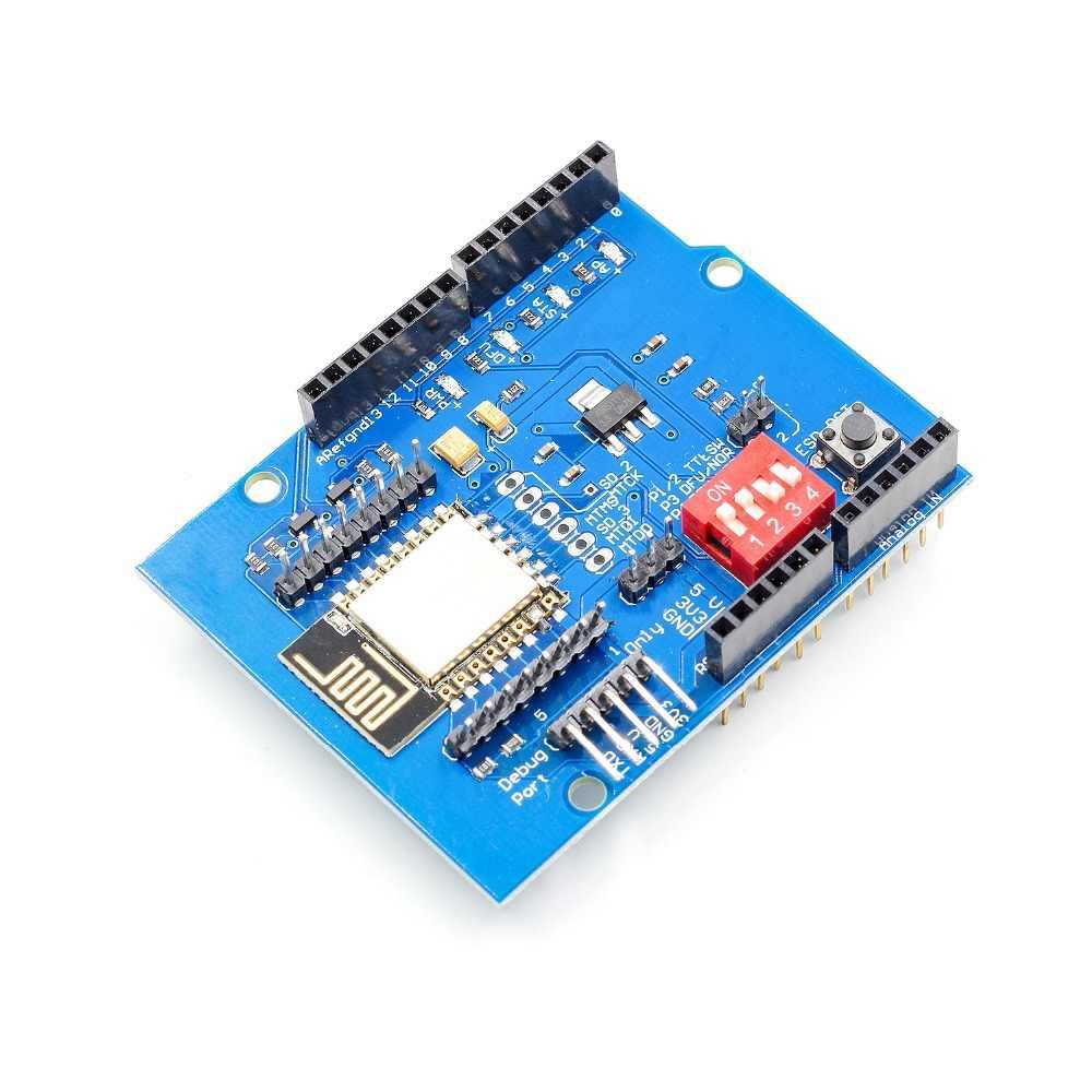 youe shone ESP8266 ESP-12E UART WIFI Wireless Shield Development Board For  Arduino UNO R3 Circuits Boards