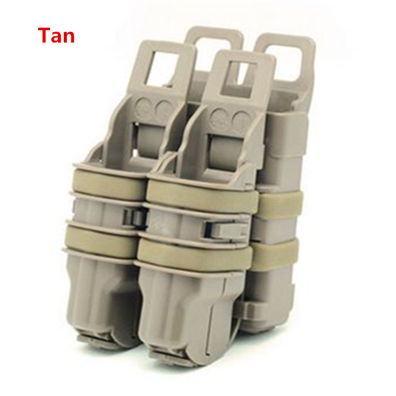 High Quality Fastmag gun * 2 * 1 M4 Mag Pouch tactical Magazine Military bags out door CS War Games Equipment 5 color available