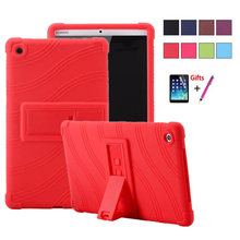 For Huawei Mediapad M5 8.4inch SHT-AL09 SHT-W09 Ultra Thin Colorful Silicon + PC back shell Cover 8.4