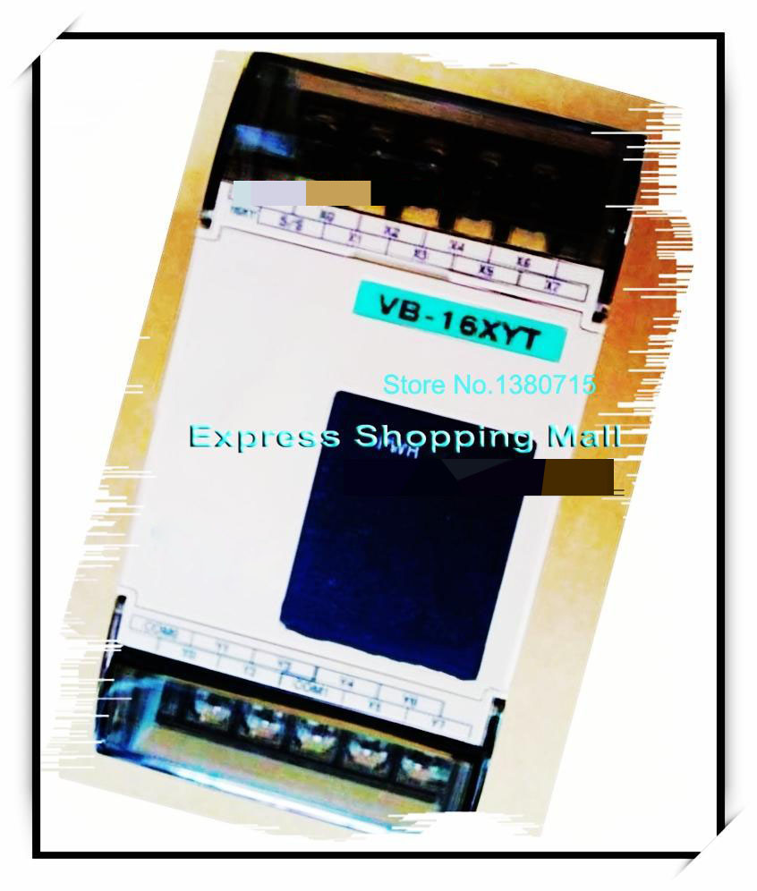 New Original VB-16XYT-I PLC 24VDC 8 point input 8 point output Expansion Module new original cp1l l20dt d plc cpu 24dc input 12 point transistor output 8 point