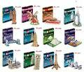 Серия S Кубических fun 3D Головоломки Бумаги DIY Бумажного Двухэтажный Автобус Эйфелева башня Титаник Tower Bridge Эмпайр-Стейт-Билдинг