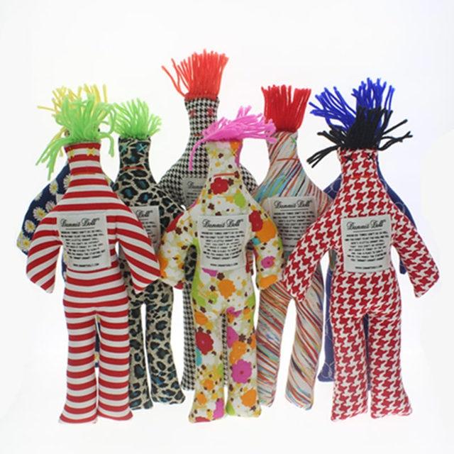 Dammit dolls de diferentes colores para ilustrar uno de los 7 regalos muy originales anti-estrés