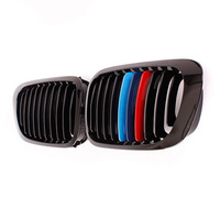 E46 2D Black Kidney Sport Racing Grilles Grill for BMW E46 Coupe 2 Door 1999 2002 Pre Facelift