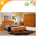 (1 bed +2 night stand +2 door wardobe+mirror table)/lot home bedroom furniture set CE-909#