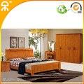 ( 1 cama 2 soporte + 2 puerta wardobe + espejo tabla ) / lot inicio conjunto de muebles de dormitorio CE-909 #
