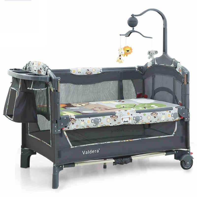 Valdera multifuncional plegable cama cuna moda portátil juego BB ...