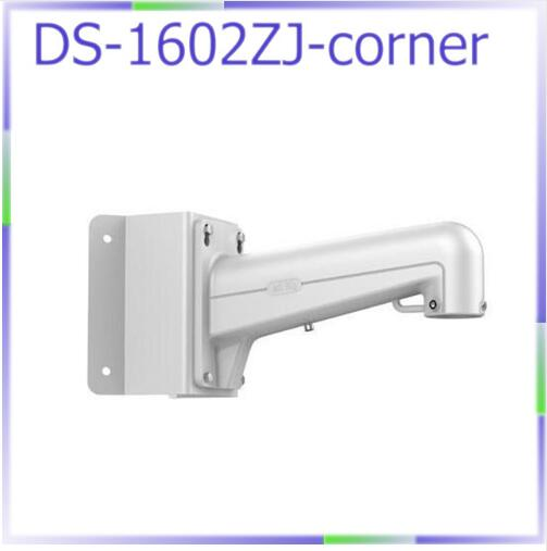 DS-1602ZJ-corner cctv camera bracket corner wall mount bracket for speed dome PTZ camera cctv bracket ds 1212zj indoor outdoor wall mount bracket suit for bullet camera s bracket ip camera bracket