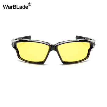 WarBLade New Night Vision Glasses For Polarized Driving Sunglasses Yellow Lens UV400 Protection Night Eyewear for Driver