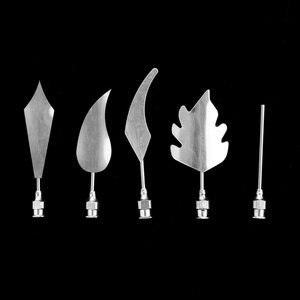 Image 3 - Plum Flower 5PCS/Set  3D Jelly Art Needles Tools Jelly Cake Gelatin Pudding Nozzle Syringe Set Russian Nozzles