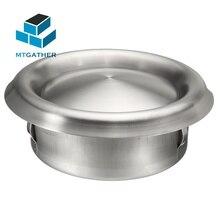 MTGATHER, 3 размера, нержавеющая сталь, вентиляционное отверстие, воздуховод, гриль, сушильная машина, вытяжка, вентилятор, Отопление, охлаждение и вентиляционные отверстия, 100 мм, 125 мм, 150 мм