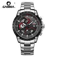 Marca de luxo 2018 nova chegada relógio multifuncional mecânico do esporte dos homens cronômetro à prova dwaterproof água relógios de pulso 8211