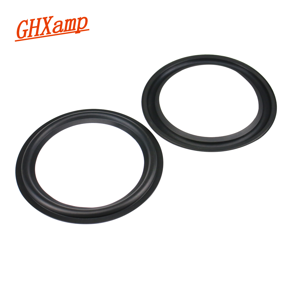 GHXAMP 6.5 Inch Rubber Surround Side 155MM Speaker Unit Repair Parts DIY Folding Ring Rubber Edge 2pcs